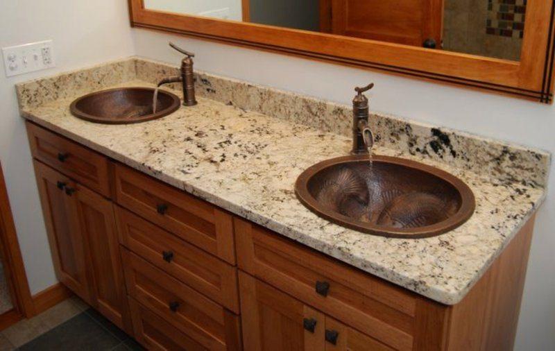Granite Countertops Bathroom, Bathroom, Countertops